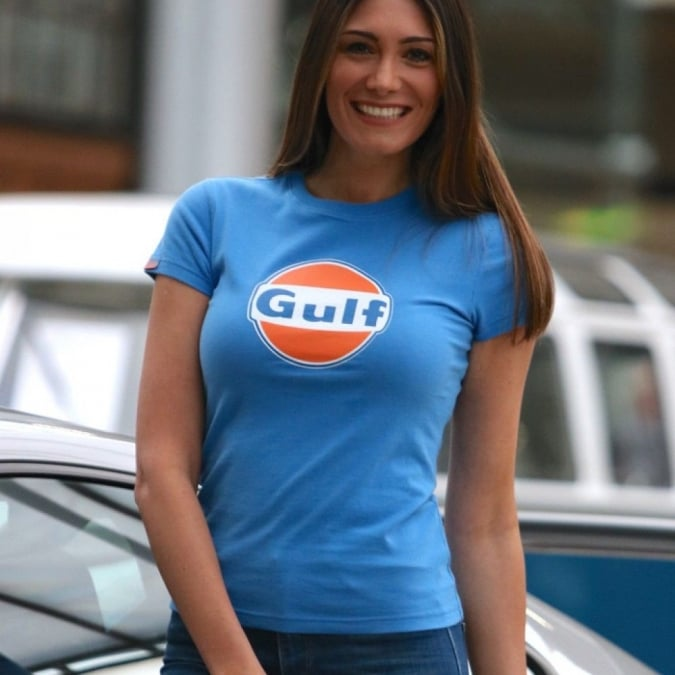 Grandprix Originals Ladies Gulf Dry T-Shirt Cobalt