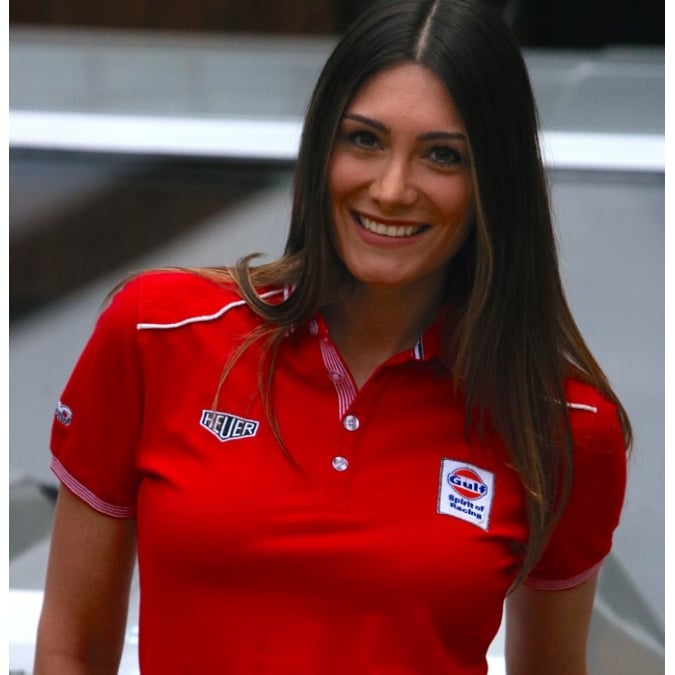 Grandprix Originals Lady Speed Polo Red