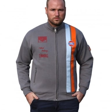 Michael Delaney Zip Grey