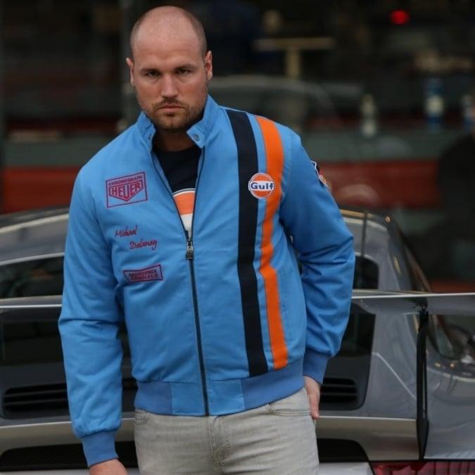 Grandprix Originals Michel Delaney Blouson Jacket Cobalt