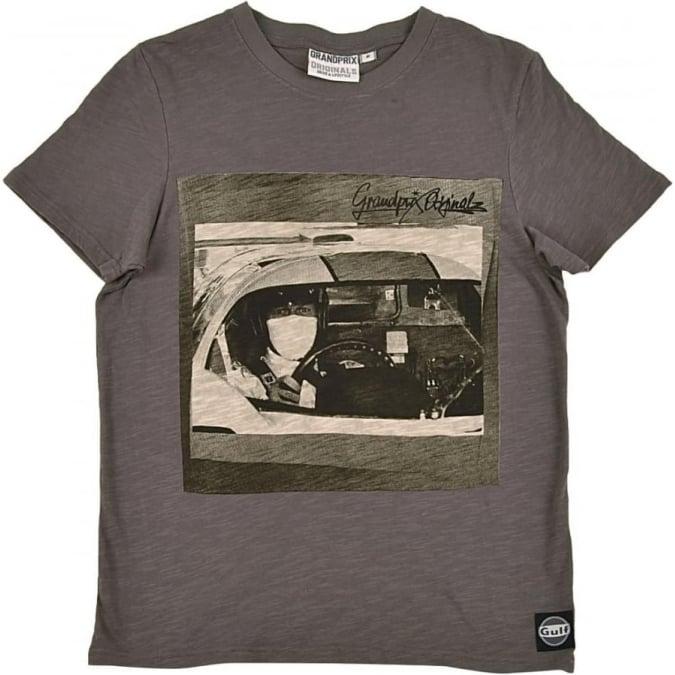 Grandprix Originals Pilot T-shirt Grey