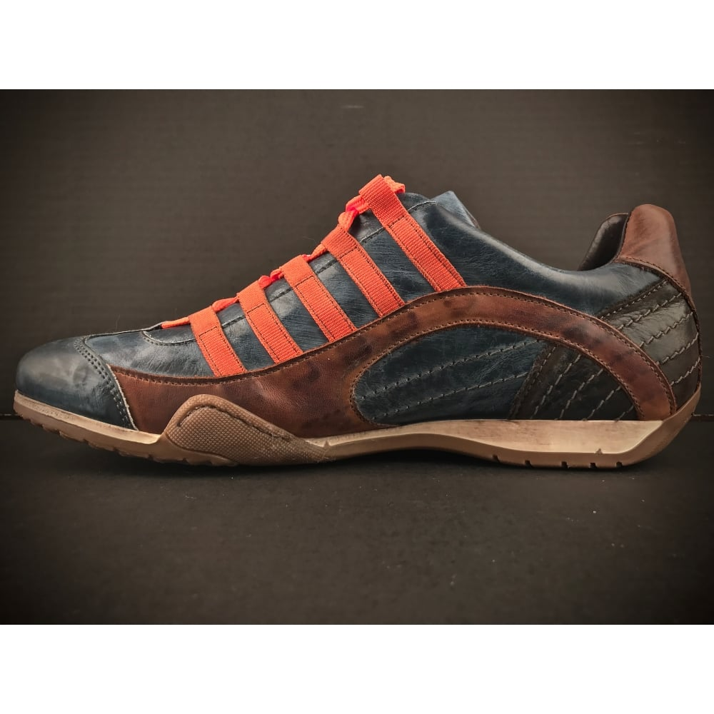 grandprix originals racing sneaker monza indigo. Black Bedroom Furniture Sets. Home Design Ideas