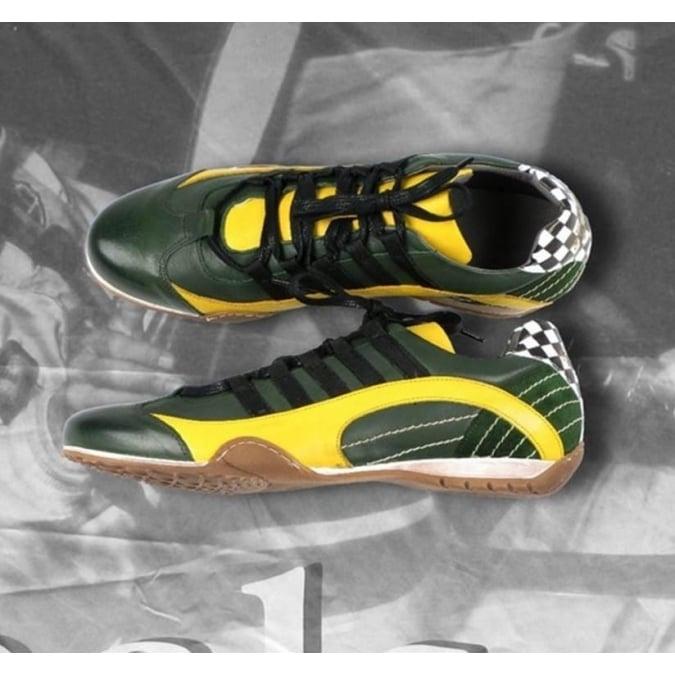 Grandprix Originals Racing Sneakers Racing Green