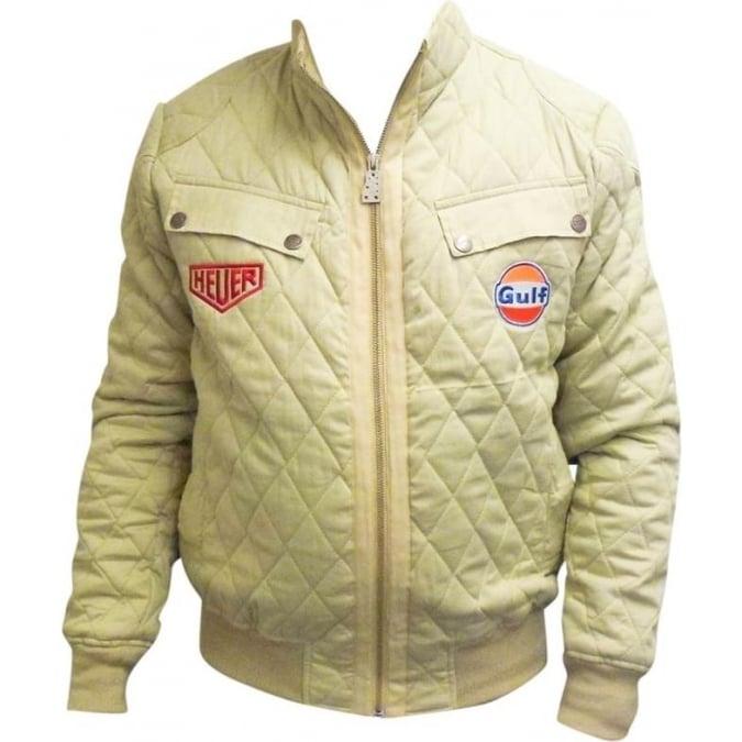 Grandprix Originals Stewart Blouson Cream Quilted Jacket