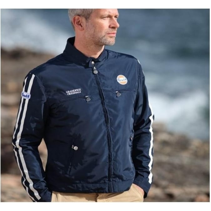 Grandprix Originals The Racing Jacket Navy Blue