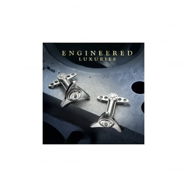 GTO Gallettone Cufflinks Silver