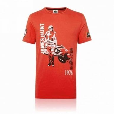 James Hunt Portrait Graphic T-shirt Hunziker
