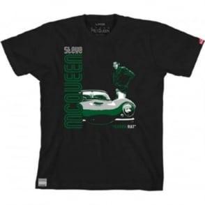 Steve McQueen Green Rat T-Shirt Black