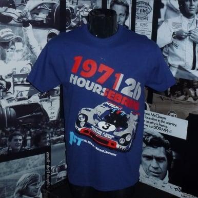 Vic Elford 12 Sebring 1971 T-shirt by Nicolas Hunziker