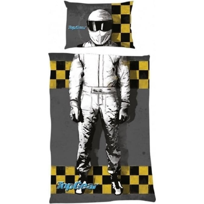 Top Gear I am The Stig Single Duvet Cover Official Merchandise