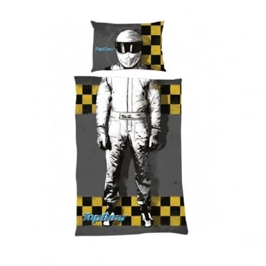 I am The Stig Single Duvet Cover Official Top Gear Merchandise