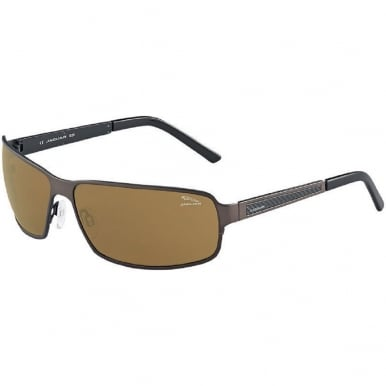 Sport Sunglasses Rectangle Brown