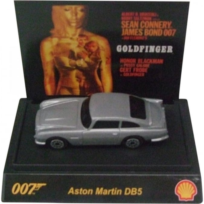 Shell James Bond 007 Collectible 1:64th Scale Aston Martin DB5 by