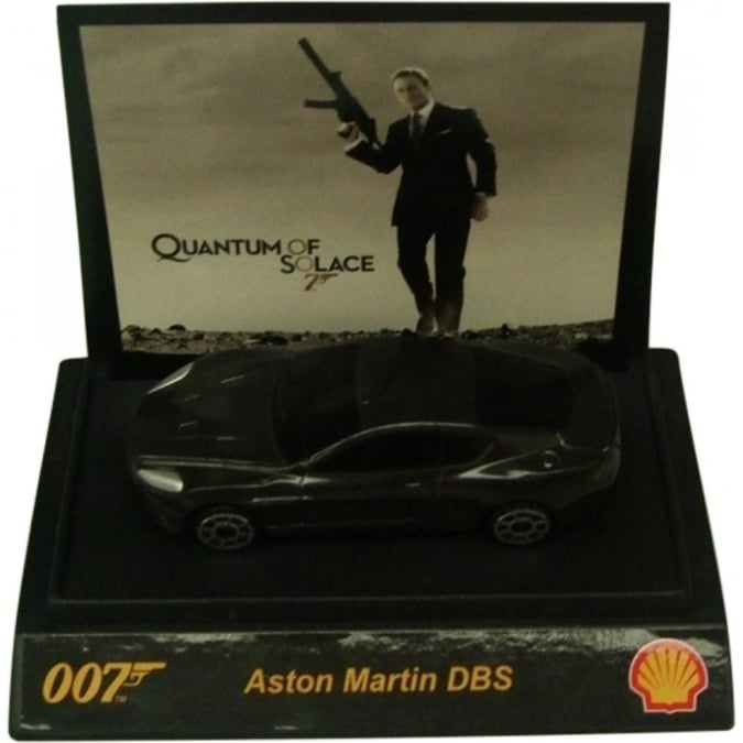 Shell James Bond 007 Collectible 1:64th Scale Aston Martin DBS by