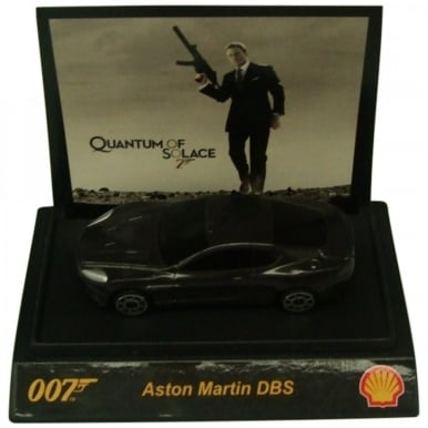 James Bond 007 Collectible 1:64th Scale Aston Martin DBS by Shell