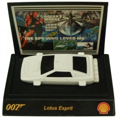 James Bond 007 Collectible 1:64th Scale Car From Shell Lotus Esprit