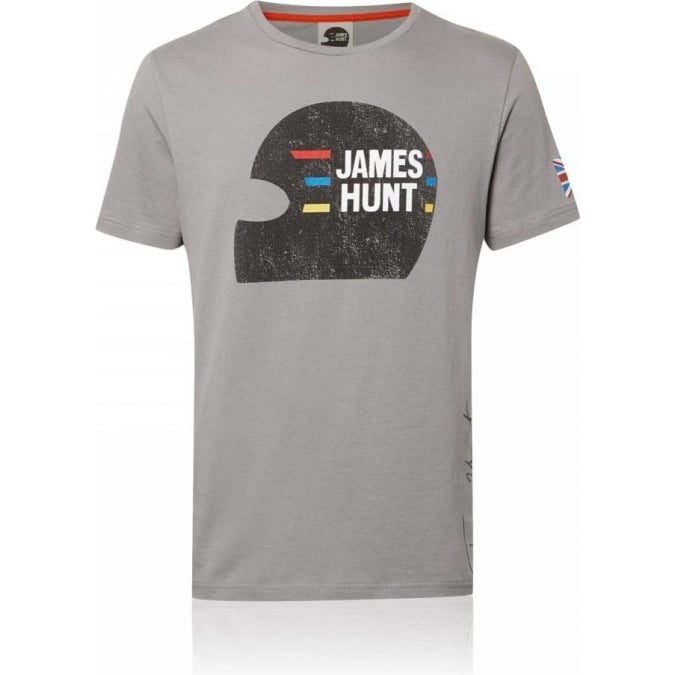James Hunt Racing Vintage Helmet T-Shirt