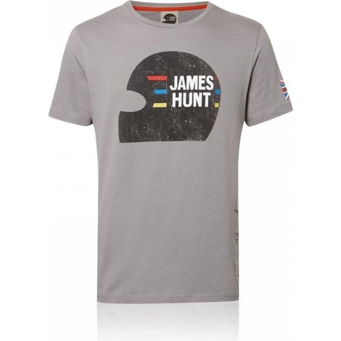 James Hunt Racing Vintage Helmet T-Shirt