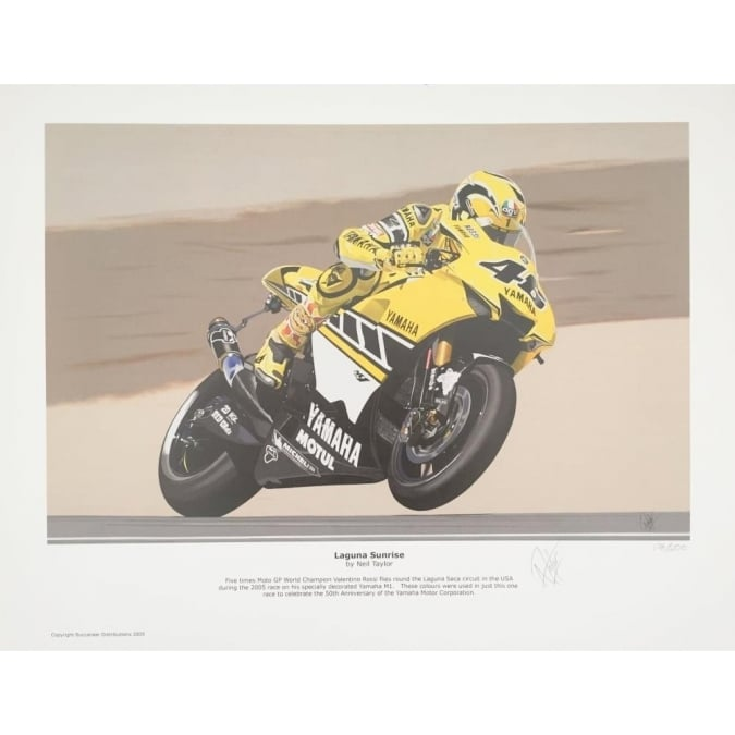 Neil Taylor Laguna Sunrise by - Valentino Rossi