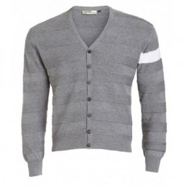 Cashmere Cotton Cardigan Grey