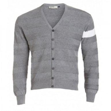 Cashmere Cotton Cardigan Grey