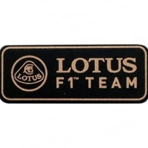 Lotus F1 Team Pin Badge