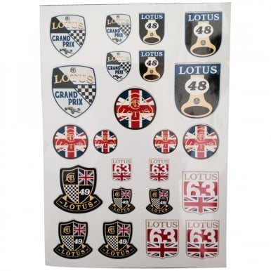 Original Heritage Sticker Sheet