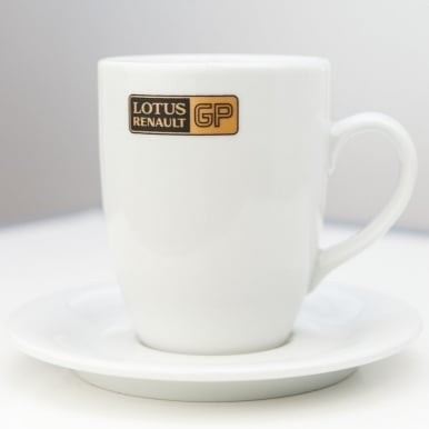 Lotus Renault GP F1 Team Mug and Saucer