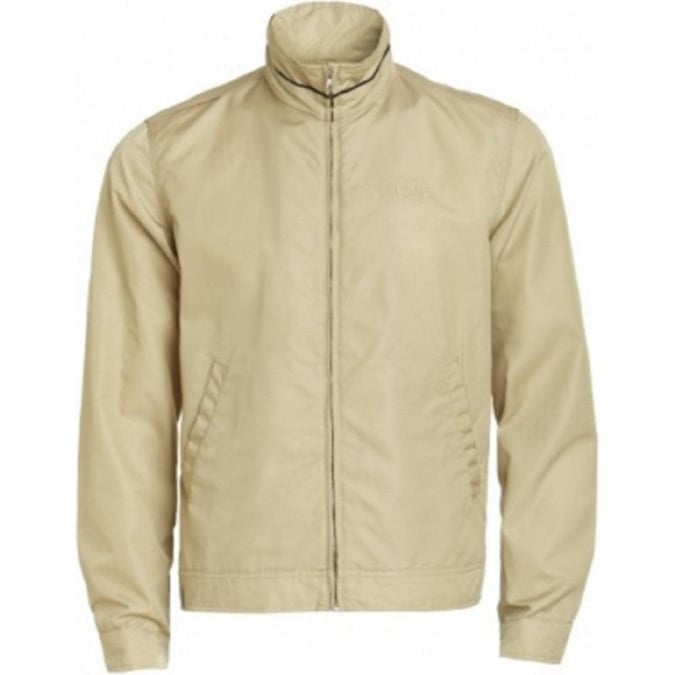 Lotus Short Blouson Jacket Beige