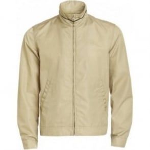 Short Blouson Jacket Beige
