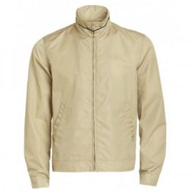 Short Blouson Jacket Beige