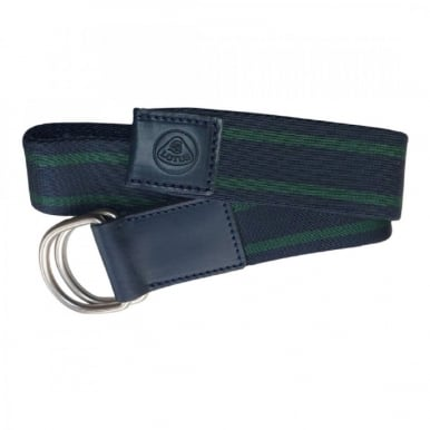 Striped Belt Dark Blue and Green