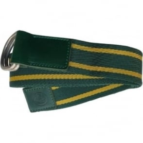 Lotus Striped Belt Green and Yellow
