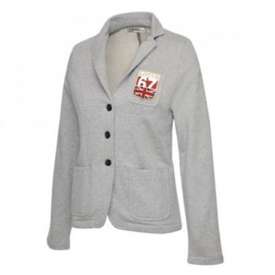 Lotus Sweatshirt Blazer Grey Ladies