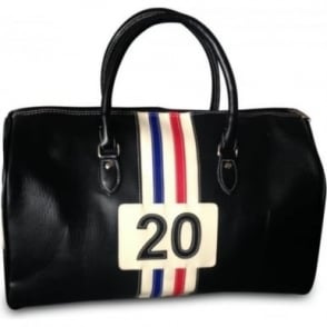 Racing Sports Holdall Bag Black
