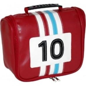 Racing Toiletry Bag Red