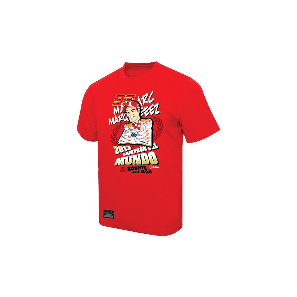 e27036095cc75 Marc Marquez MotoGP World Champion T-Shirt red