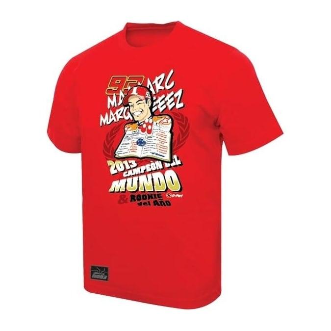 najwyższa jakość tanie trampki ograniczona guantity Marc Marquez 93 Marc Marquez MotoGP World Champion T-Shirt Red