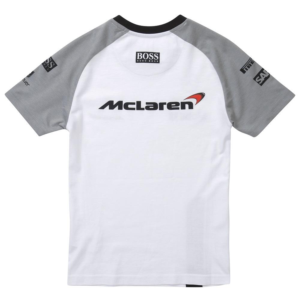 Mclaren mercedes kids 2014 button t shirt the formula 1 for Mercedes benz t shirts sale