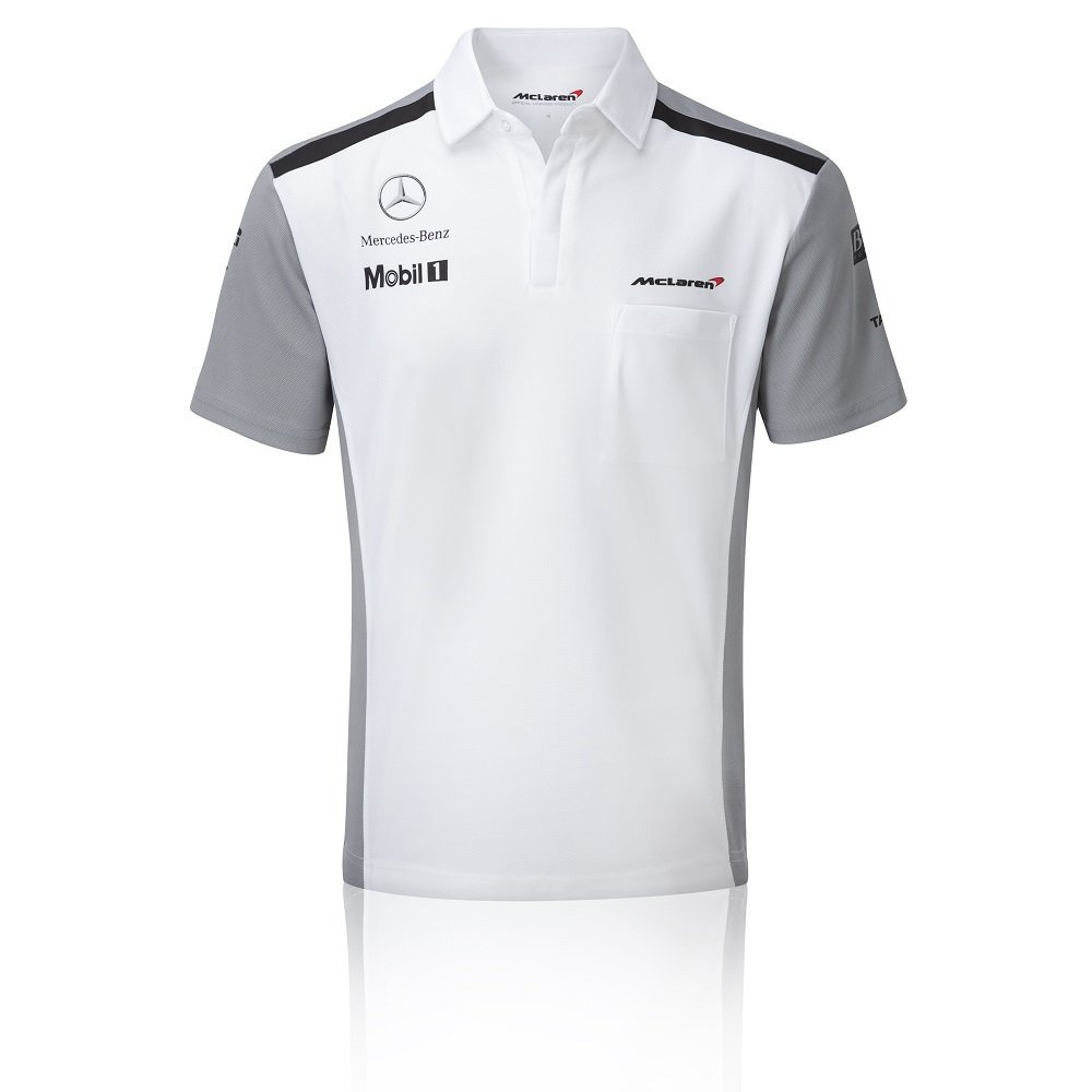 Mercedes Benz Apparel: Mclaren Mercedes Men's 2014 Team Poloshirt The Formula 1