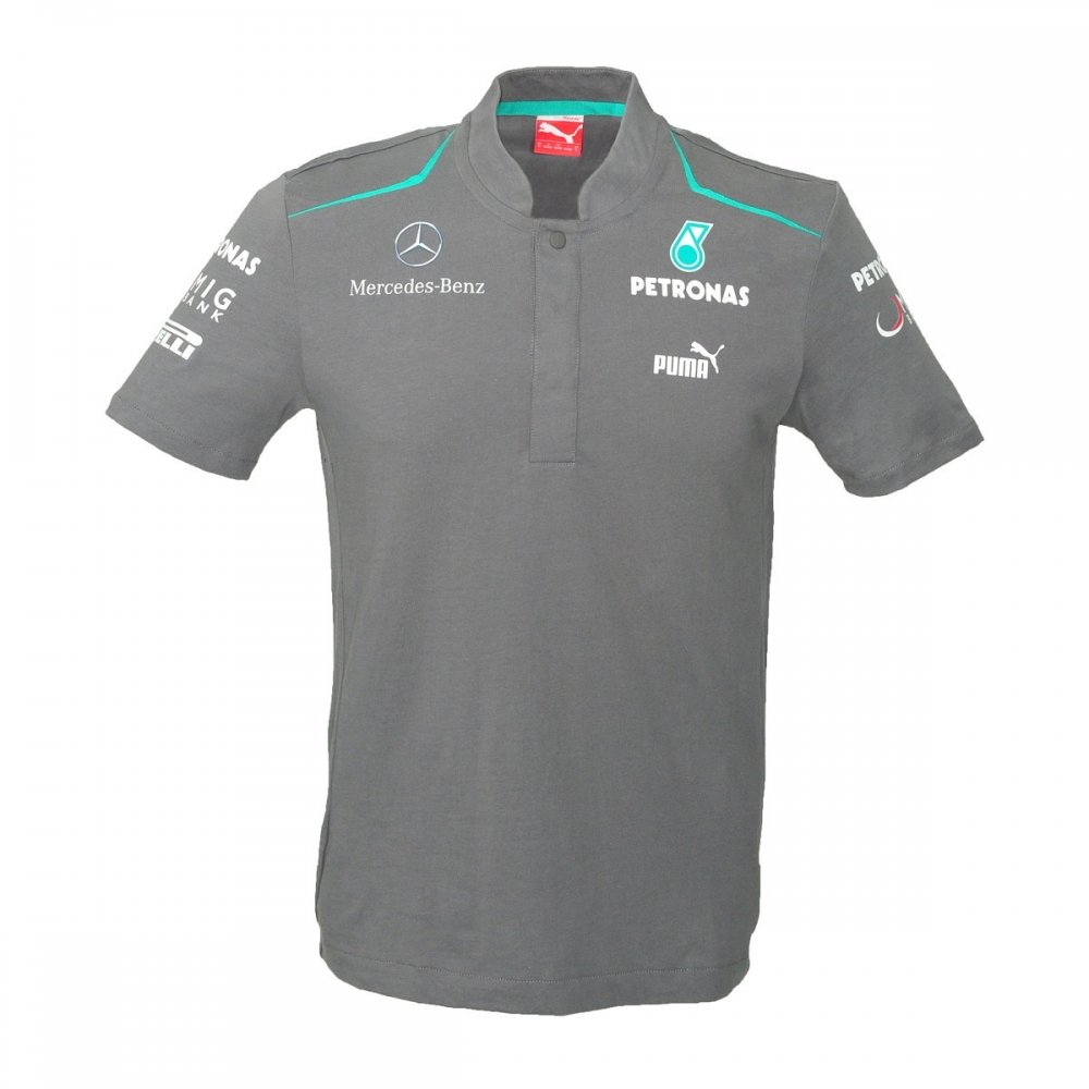mercedes amg mercedes amg petronas mens polo shirt 2013. Black Bedroom Furniture Sets. Home Design Ideas