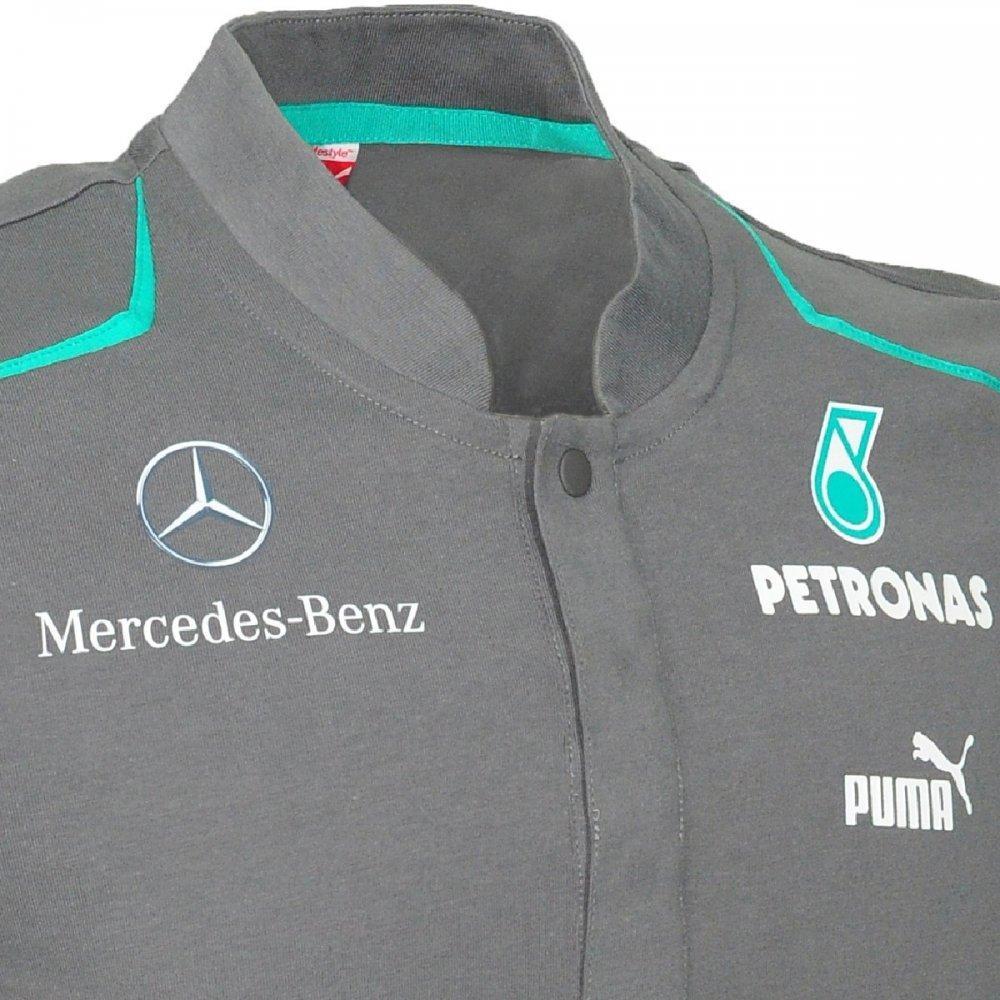 Mercedes amg mercedes amg petronas mens polo shirt 2013 for Mercedes benz clothing men