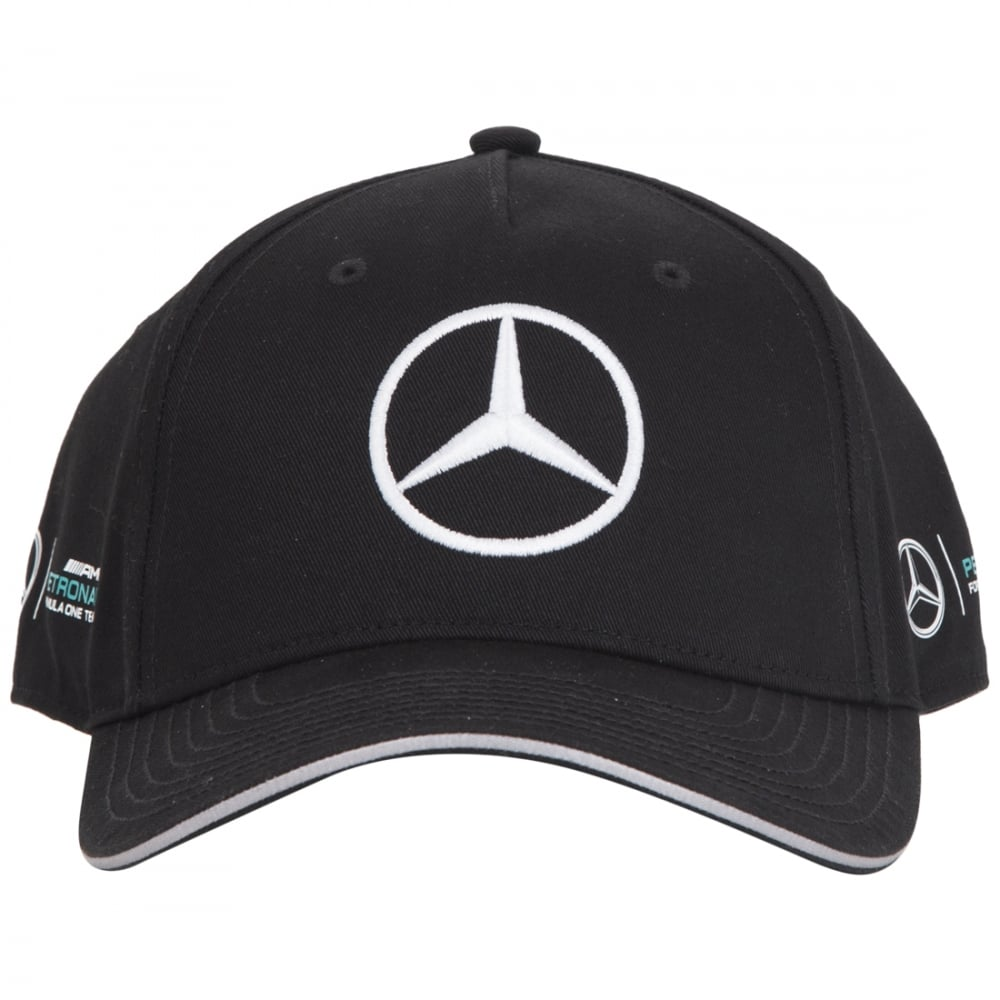 Mercedes f1 cap lewis hamilton for Mercedes benz amg hat