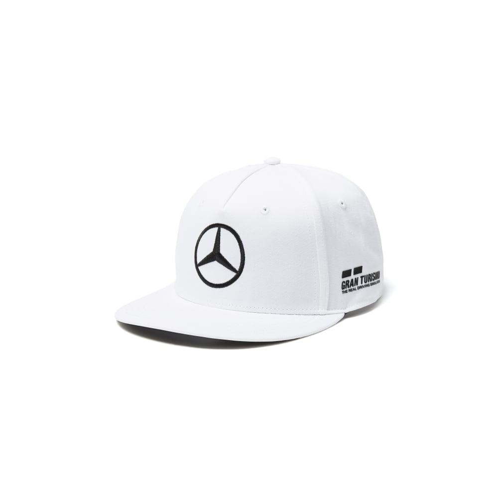 38ca8c7eba7 Official Mercedes AMG Petronas F1 Lewis Hamilton Flatbrim Drivers ...