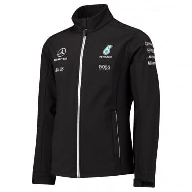 Mercedes AMG Petronas F1 Softshell Jacket 2017
