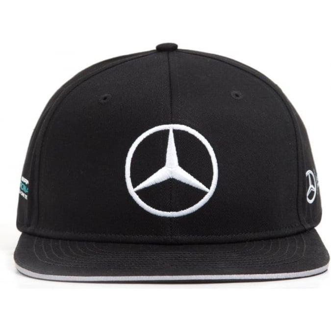 Mercedes AMG Petronas F1 Valtteri Bottas Flatbrim Cap 2017