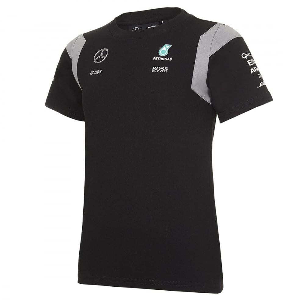 official mercedes amg petronas kids driver t shirt 2016