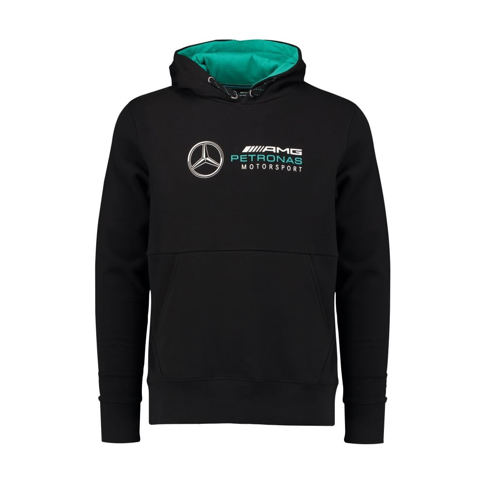 official mercedes amg petronas mens hoodie black 2018. Black Bedroom Furniture Sets. Home Design Ideas