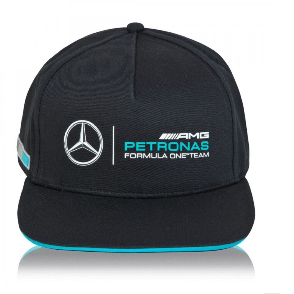 Mercedes amg petronas 2015 fan cap black available at 195mph for Mercedes benz hats sale