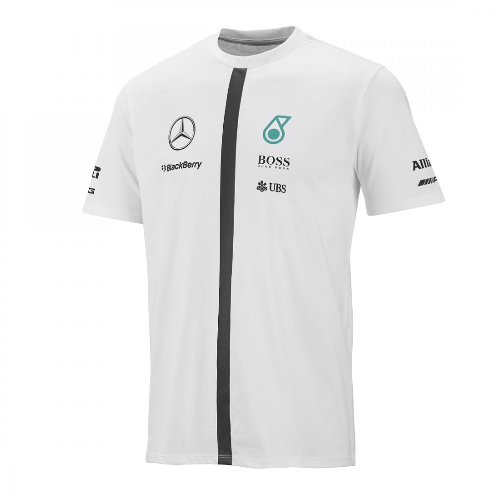 mercedes amg team driver t shirt 2015 white